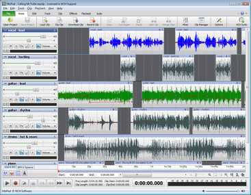 Download MixPad Professional Audio Mixer
