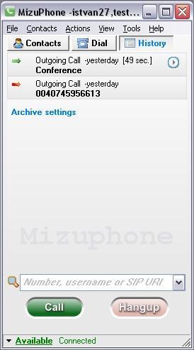 Download Mizu VoIP SoftPhone
