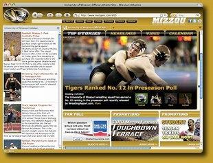 Download Mizzou Firefox Browser Theme