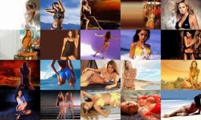Download Models Photo Screensaver