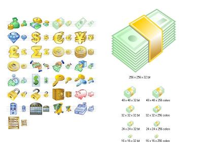 Download Money Icon Set