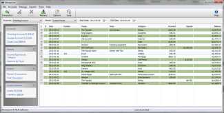 MoneyLine Free Personal Finance Software for Mac