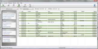 Download MoneyLine Personal Finance Software