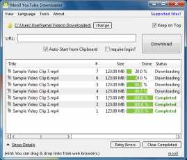Moo0 YouTube Downloader