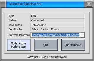Download Morpheus SpeedUp Pro