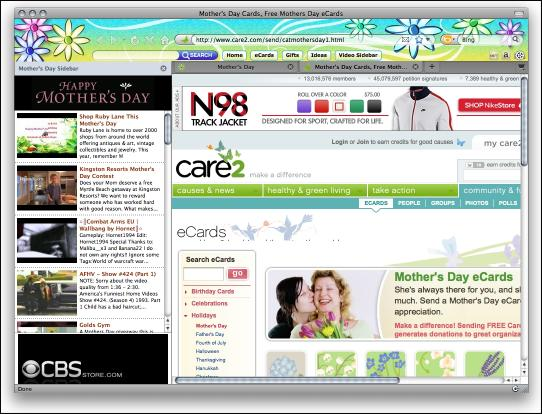 Download Mothers Day 2010 Firefox Theme