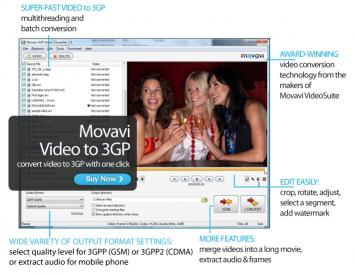 Download Movavi 3GP Video Converter
