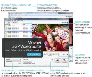 Download Movavi 3GP Video Suite
