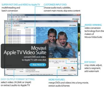 Download Movavi Apple TV Video Suite