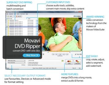 Download Movavi DVD Ripper
