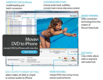 Download Movavi DVD to iPhone