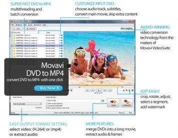 Download Movavi DVD to MP4