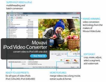 Movavi iPod Video Converter