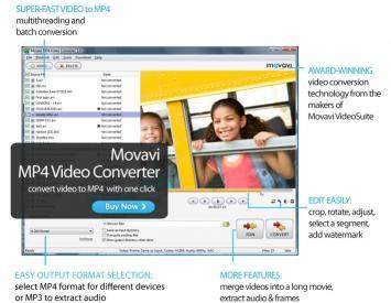 Download Movavi MP4 Video Converter