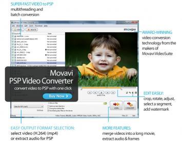 Download Movavi PSP Video Converter