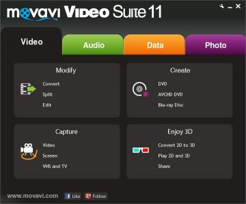 Download Movavi Video Suite