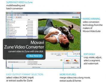 Download Movavi Zune Video Converter