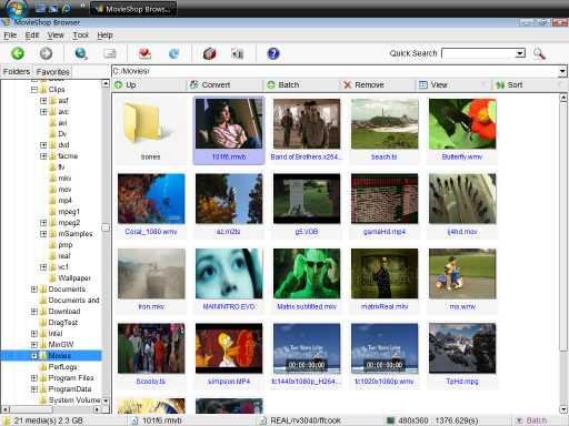 Download MovieShop Browser