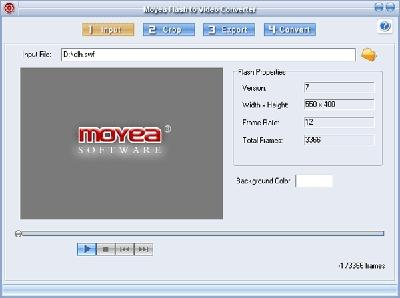 Download Moyea Flash to Video Converter standard