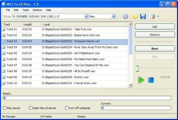 Download MP3 To CD Plus