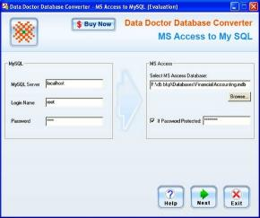 Download MS Access DB Conversion Software
