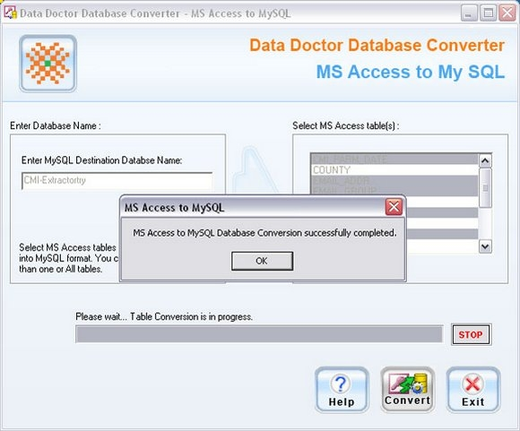 how to delete all data in ms access mdb file