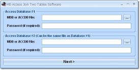 Download MS Access Join Two Tables Software