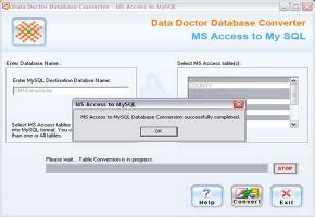 Download MS Access to MySQL Conversion Tool