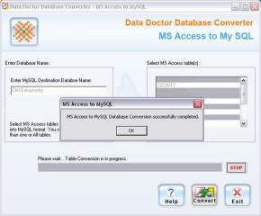 Download MS Access To MySQL Converter