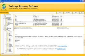 Download MS Exchange Mailbox Restore