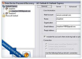 Download MS Outlook Password Rescue Software