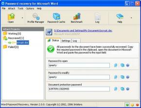 Download MS Word Document Password Recovery