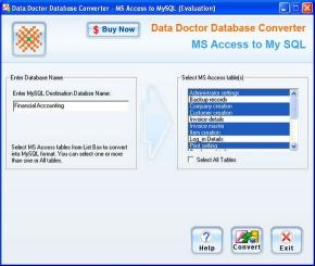 Download MSAccess to MySQL DB Conversion Utility