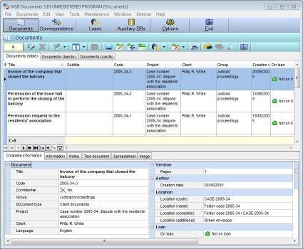 Download MSD Documents