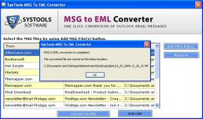 Download MSG to EML Converter