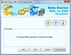 Download MSI Installer to EXE Creator