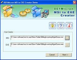 Download MSI Setup To EXE Converter