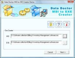 Download MSI to EXE Creator Tool