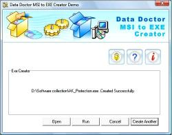 Download MSI to EXE Maker Software