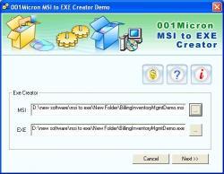 Download MSI to EXE Setup Creator