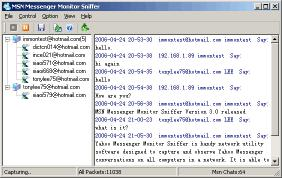 Download MSN Messenger Monitor Sniffer