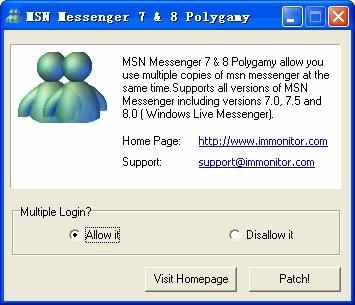 Download MSN Messenger (WLM) Polygamy 2009