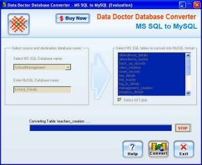 Download MSSQL to MySQL Conversion Program