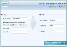 Download MSSQL To MySQL Data Base Conversion