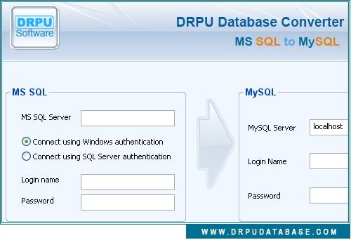 MSSQL to MySQL Database Conversion - standaloneinstaller com