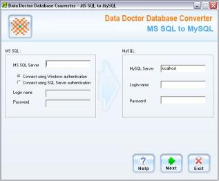 Download MSSQL to MySQL Migration Tool