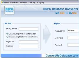Download MSSQL to MySQL Migrator