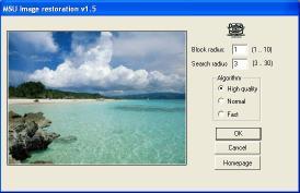 Download MSU Image Restoration Photoshop plugin