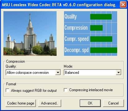 Download MSU Lossless Video Codec