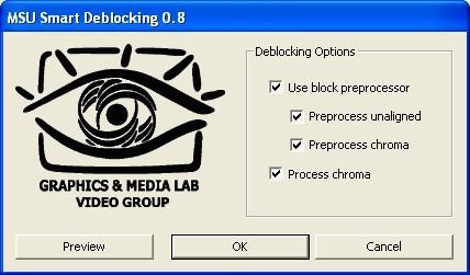 Download MSU Smart Deblocking VirtualDub plugin